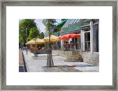 Daugavpils Street Framed Print by Yury Malkov