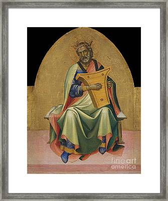 David By Lorenzo Monaco Framed Print by MMA Gwynne Andrews and Marquand Funds