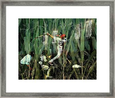 David Freese Framed Print by John Freidenberg
