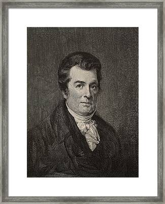 David Hosack Framed Print by Universal History Archive/uig