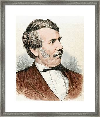 David Livingstone (1813-1873 Framed Print by Prisma Archivo