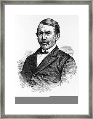 David Livingstone, Scottish Explorer Framed Print by Science Photo Library