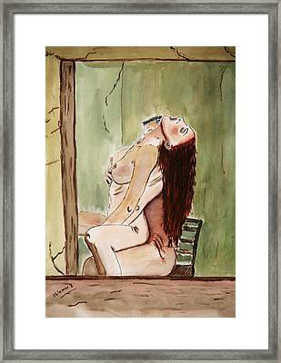 David Passion Framed Print by Shlomo Zangilevitch