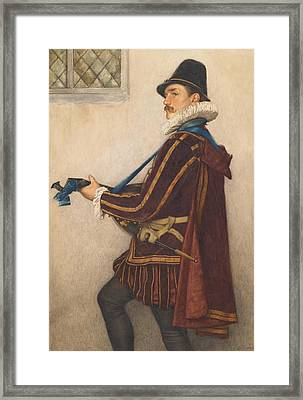 David Rizzio Framed Print by Sir James Dromgole Linton