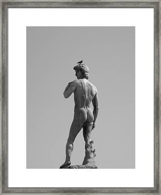 David Framed Print by Victoria Lakes