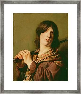 David With His Sword Salomon De Bray, Dutch Framed Print by Litz Collection