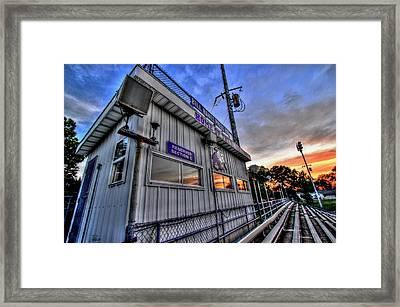 Dawg House Framed Print by David Zarecor