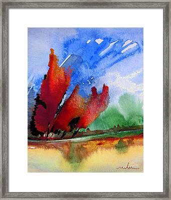 Dawn 04 Framed Print by Miki De Goodaboom