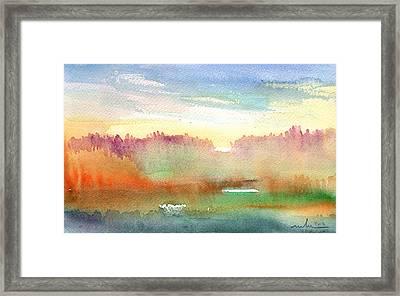 Dawn 43 Framed Print by Miki De Goodaboom