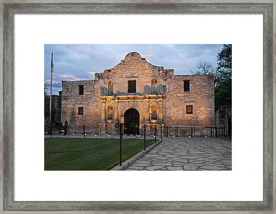 Dawn At The Alamo Framed Print by Jemmy Archer