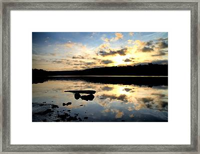 Dawn Breaks Framed Print by Karol Livote
