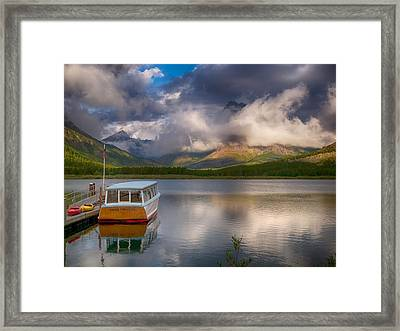 Dawn Delight Framed Print by Rob Wilson