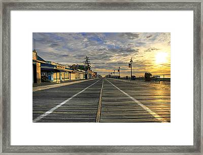 Dawning Of A New Day Framed Print by Dan Myers