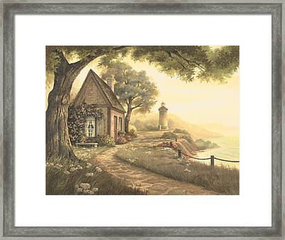 Dawn's Early Light Framed Print by Michael Humphries