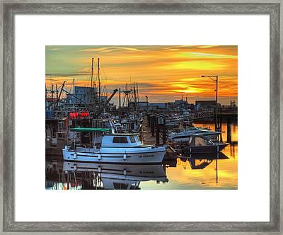 Dawn's Early Light Framed Print by Randy Hall