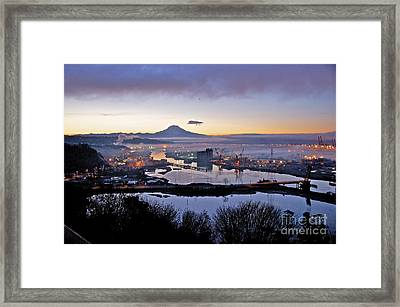 Dawn's Early Light Framed Print by Sean Griffin