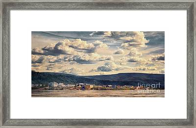 Dawson City Framed Print by Priska Wettstein