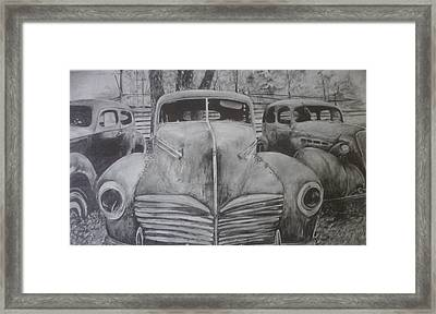 Forgotten Classics  Framed Print by Shannon  Savage