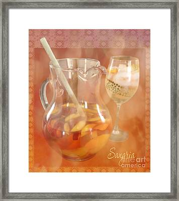 Day Drinking Framed Print by Terry Weaver