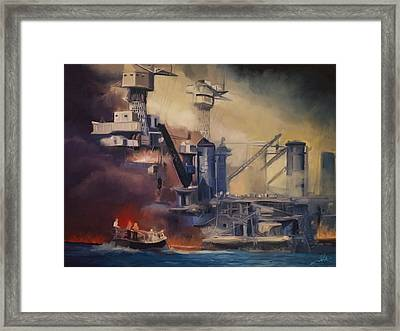 Day Of Infamy Framed Print by Dale Jackson