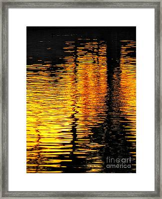 Day Of Reflection Framed Print by Deb Halloran