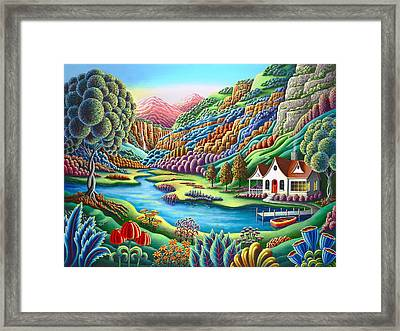 Daybreak Framed Print by Andy Russell