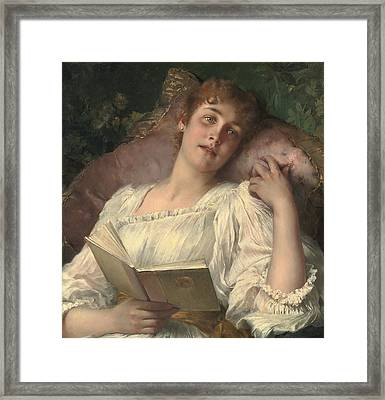 Daydreaming Framed Print by Conrad Kiesel