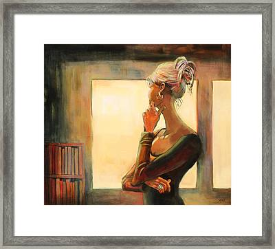 Daydreaming Framed Print by Sue  Darius