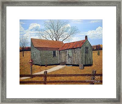 Days Gone By Framed Print by Jeff McJunkin