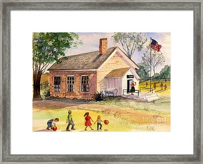 Days Gone By Framed Print by Marilyn Smith