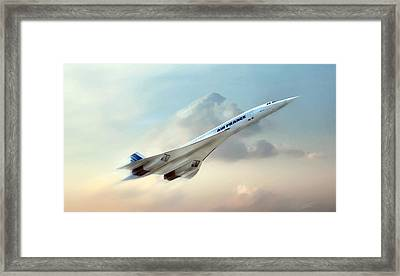 Days Of Future Passed Framed Print by Peter Chilelli