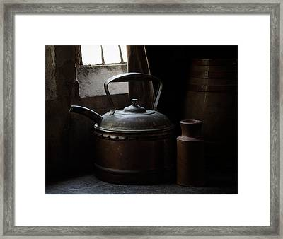 Days Of Old Framed Print by Amy Weiss