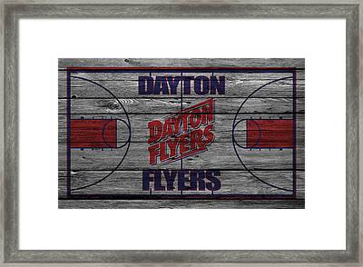 Dayton Flyers Framed Print by Joe Hamilton