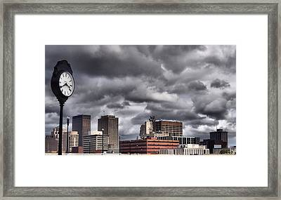 Dayton Ohio Framed Print by Dan Sproul