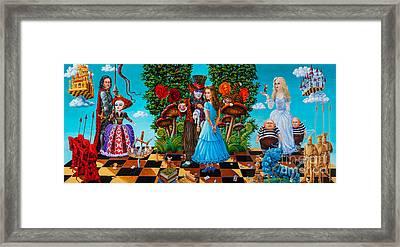 Daze Of Alice Framed Print by Igor Postash