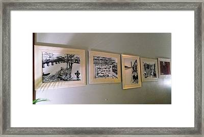 D.c. Before I  Framed Print by Leslie Byrne