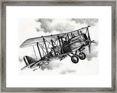 De Havilland Airco Dh.4 Framed Print by James Williamson