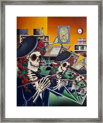 Dead Artist Society Framed Print by Gary Kroman