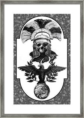 Dead Centurion Framed Print by Matt Kedzierski