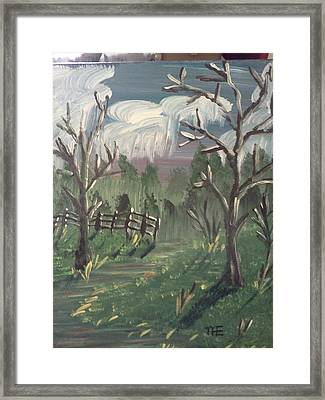 Dead Day Framed Print by Renee McKnight