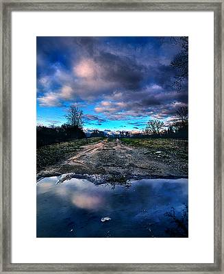 Dead End Framed Print by Phil Koch