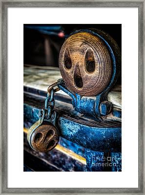 Dead Eye Framed Print by Adrian Evans