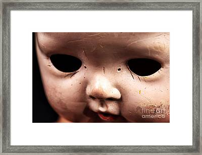 Dead Eyes Framed Print by John Rizzuto