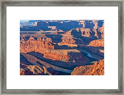 Dead Horse Dawn - Utah Sunrise Photograph Framed Print by Duane Miller