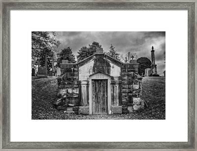 Dead Man's Castle Framed Print by Brett Engle