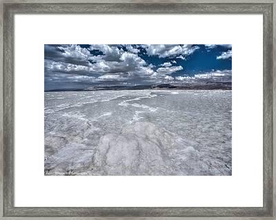 Dead Sea Framed Print by Isaac Silman