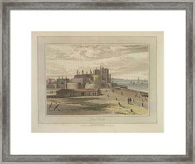Deal Castle Framed Print by British Library