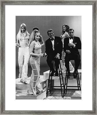 Dean Martin Framed Print by Retro Images Archive