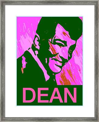 Dean Martin  Framed Print by Robert Margetts
