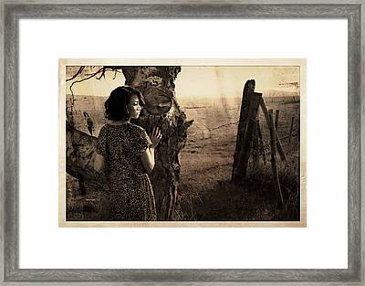 Dear Norma Framed Print by Theresa Tahara